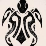 Modèle tattoo tortue