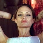 Angelina Jolie tattoos in the movie wanted