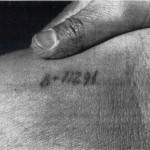 Tatouage numéro de matricule à Auschwitz