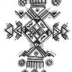 Motif de dessin Kabyle