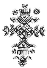 Tatouage Kabyle. Motif de dessin Kabyle