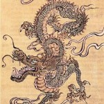 Modèle de tatouage dragon Chinois