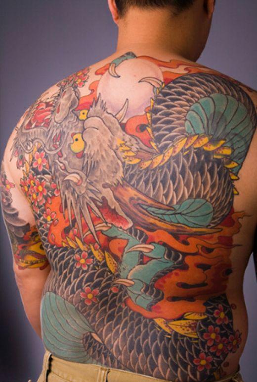 Tatouage De Dragon Tattoo De Dragon Tribal Symbolique Du Dragon