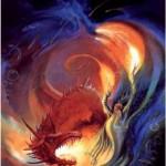 Dragon en couleurs