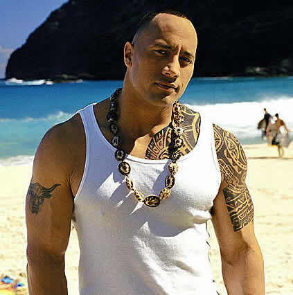 Rock Tattoo Dwayne Johnson