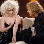 Lady Gaga tatouage peace and love