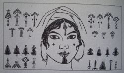 Tatouage Berbere Tatouages Et Culture Berbere Amazigh Modele