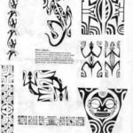Planche de tattoo polynesien