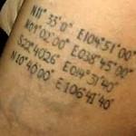 Recouvrement tatouage dragon Angelina Jolie