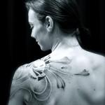 Tatouage dot art ou art du point