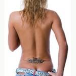 Modèle tattoo bas du dos