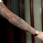 tatouages des bras de beckham