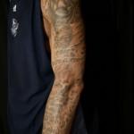 Tatouage bras gauche LeBron James