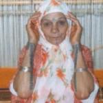 Tatouage femme Kabyle sur les mains et le visage