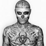 Tatouage intégral : le body suit de Zombie boy