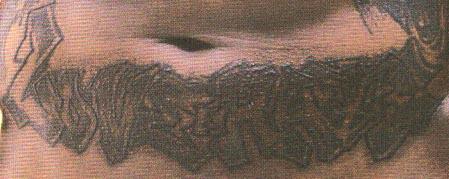50 Cent Tattoos tatouage 50 cent, tatouage dos intégral du rappeur fifty cent