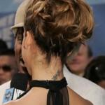 Tatouage nuque Jessica Alba