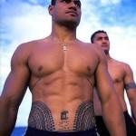 Polynesiens tahitiens tatoués