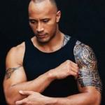 The Rock : tatouages sur les bras