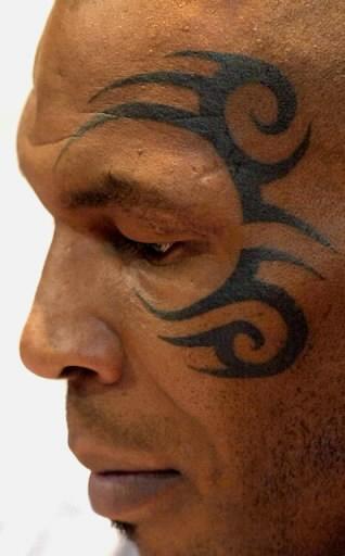 tatouage mike tyson tattoos boxe tous les tatouages de mike tyson tattoo tatouages com. Black Bedroom Furniture Sets. Home Design Ideas