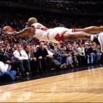 Dennis Rodman en vol