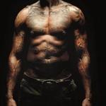 Tatouage abdominaux et torse Dennis Rodman