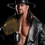 L'undertaker, champion de catch de la WWE