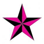 Modèle tatouage étoile nautique