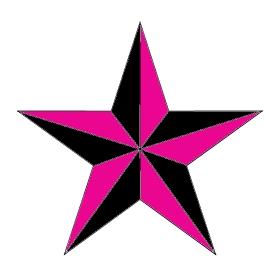 Tatouage étoile old school, modèle de tatouage d'étoiles ... Drew Barrymore Hotel