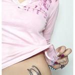 Tatouage hanche pour femme