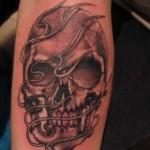 Modèle tatouage mort