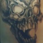 Modèle tatouage tête de mort