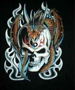 Tatouages de dragon sur pinterest tatouages tribaux de dragon conceptions de tatouage de - Tete de mort signification ...