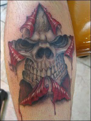 Tatouage t te de mort old school tatouage cr ne mexicain mod les de tatouages de t te de mort - Tete de mort signification ...