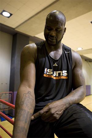 Tatouage Shaquille O Neal Les Tattoos Du Shaq Tatouage Superman