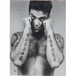 Tatouages sur les bras I love U mother Robbie Williams