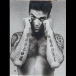Tatouages sur les bras I love U mother Robbie Williams
