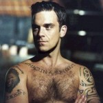 Tatouage en français Robbie Williams