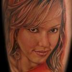 Tatouage de fan de Jessica Alba