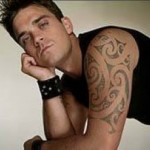 Tatouage Maori Robbie Williams