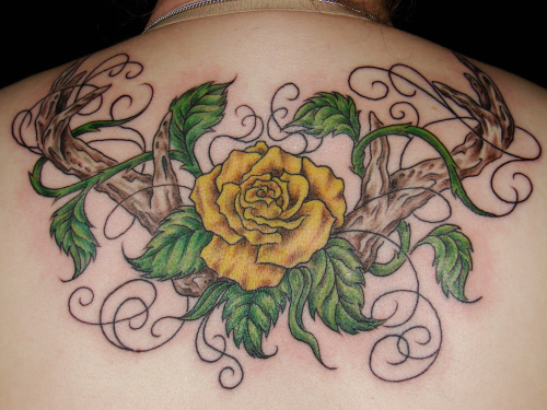 Old school rose tattoos search results from Google