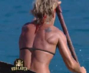 Tatouage épaule Frédérique Jossinet