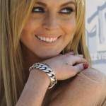Tatouage Lindsay Lohan : coeur sur la main