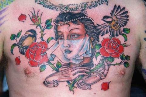 modele tatouage old school