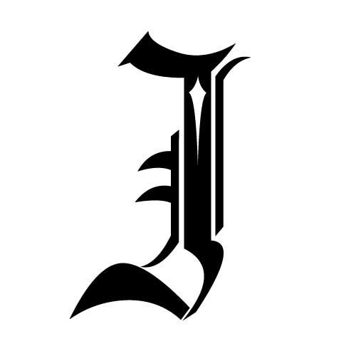 lettres gothiques collection
