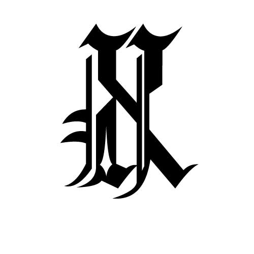 Tatouage criture gothique modle tatouage lettres gothiques modle tatouage criture gothique lettre x thecheapjerseys Image collections