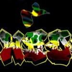 Modèle tatouage Gwada rap hip hop graffiti