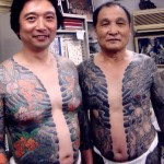 Tatouage japonais de Yakuza