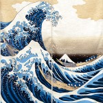 Art japonais traditionnel : vagues