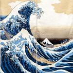 Art japonais traditionnel : vagues